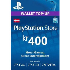 PlayStation Network 400 DKK