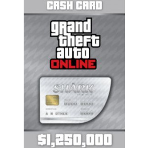 Grand Theft Auto Online: Great White Shark Cash Card - 1.250.000$ DLC OTHERS