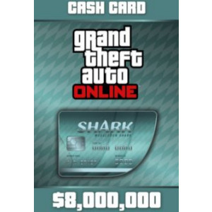 Grand Theft Auto Online: Megalodon Shark Cash Card - 8,000,000$ DLC OTHERS