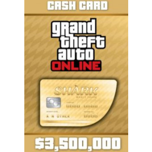 Grand Theft Auto Online: The Whale Shark Cash Card - 3.500.000$ DLC OTHERS