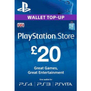 PlayStation Network 20 GBP