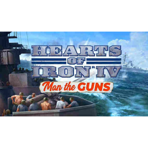 Hearts of Iron IV: Man the Guns DLC STEAM