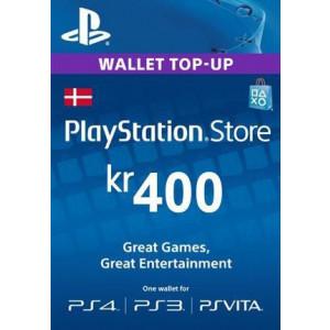 PlayStation Network 400 DKK