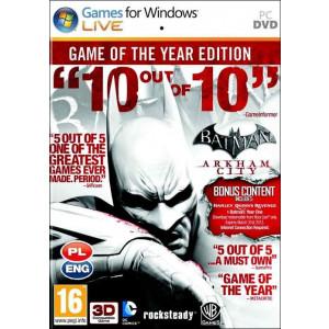 Batman: Arkham City GOTY Edition STEAM
