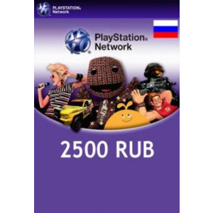 PlayStation Network 2500 RUB