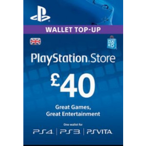 PlayStation Network 40 GBP