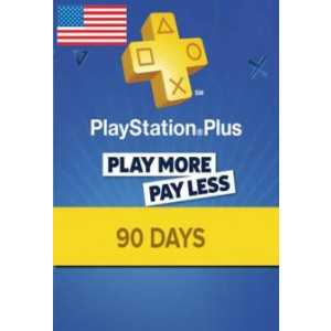 Playstation Plus 90 Days